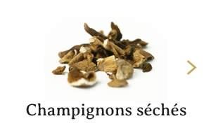Champignons séchés
