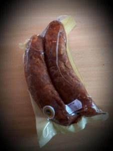 Saucisse de Montbeliard IGP x 2